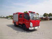 海盾牌JDX5050GXFSG20/JL型水罐消防车