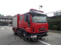 Jinshengdun JDX5080GXFPM30/Y foam fire engine