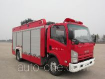 Haidun JDX5080TXFZM50 lighting fire truck