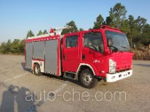 Jinshengdun JDX5100GXFPM35/B foam fire engine