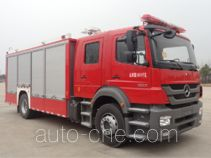 Jinshengdun JDX5120TXFHJ100/B chemical accident rescue fire truck