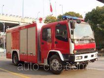 海盾牌JDX5140TXFGF30型干粉消防车