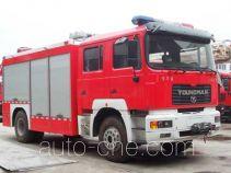 海盾牌JDX5140TXFJY96型抢险救援消防车