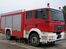 海盾牌JDX5150GXFAP24型A类泡沫消防车