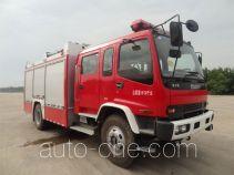 海盾牌JDX5150GXFSG50/W型水罐消防车