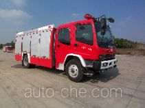 海盾牌JDX5160GXFAP50型A类泡沫消防车