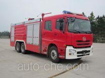 海盾牌JDX5260TXFGP100型干粉泡沫联用消防车