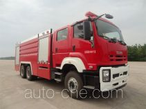海盾牌JDX5270GXFSG120/W型水罐消防车
