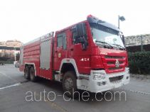 Jinshengdun JDX5280GXFPM120/H foam fire engine
