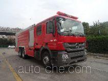 海盾牌JDX5320GXFPM160/B型泡沫消防车