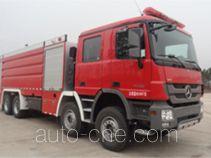 海盾牌JDX5390GXFSG200/B型水罐消防车