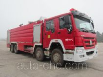 Jinshengdun JDX5420GXFPM240/H foam fire engine
