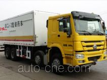 Guodao JG5310THR emulsion explosive on-site mixing truck