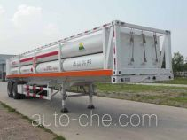 Hongqi JHK9320GGY high pressure gas long cylinders transport trailer
