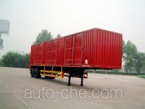 Hongqi JHK9340XXY box body van trailer