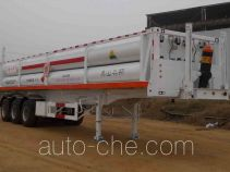 Hongqi JHK9360GGY high pressure gas long cylinders transport trailer