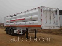 Hongqi JHK9400GGY high pressure gas long cylinders transport trailer