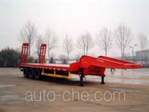 红旗牌JHK9400TDP型低平板半挂车