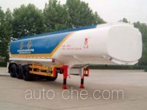 Hongqi JHK9401GHY chemical liquid tank trailer