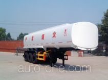 Hongqi JHK9400GHY chemical liquid tank trailer