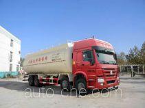 圆易牌JHL5317GFLN46ZZ型低密度粉粒物料运输车