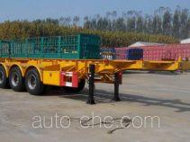 Haipeng JHP9402TWY dangerous goods tank container skeletal trailer