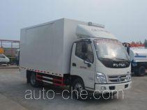 Mobile stage van truck