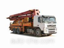 沃尔沃牌JHW5340THBE46B4型混凝土泵车