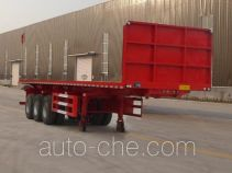 Yucheng JJN9401ZZXP flatbed dump trailer