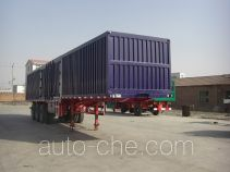 Fuyunxiang JJT9323XXY box body van trailer