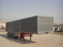 Fuyunxiang JJT9380XXY box body van trailer