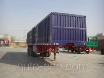 Fuyunxiang JJT9381XXY box body van trailer