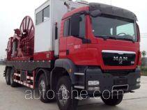 Haizhida JJY5510TLG coil tubing truck