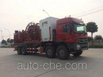 Haizhida JJY5551TLG coil tubing truck