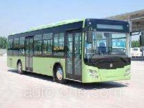Huanghe JK6129GPHEV hybrid city bus