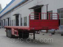 Kuangshan JKQ9400P flatbed trailer