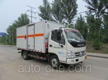 驼马牌JLC5049XRQ型易燃气体厢式运输车