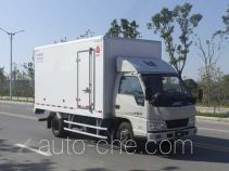 Jiangling Jiangte insulated box van truck