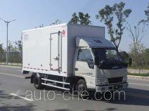 Jiangling Jiangte JMT5040XBWXG2 insulated box van truck