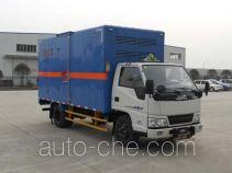 Jiangling Jiangte JMT5040XRQXG2 flammable gas transport van truck