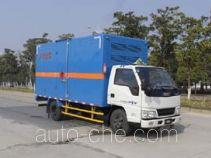 Jiangling Jiangte JMT5040XRYXG2 flammable liquid transport van truck