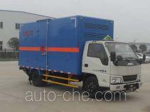 Jiangling Jiangte JMT5060XRQXG2 flammable gas transport van truck