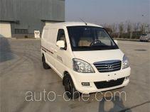 众泰牌JNJ5020XXYEV3型纯电动厢式运输车