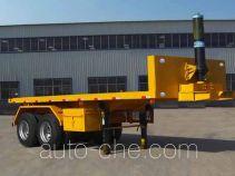 Junqiang JQ9350ZZXP flatbed dump trailer