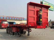 Junqiang JQ9401ZZXP flatbed dump trailer