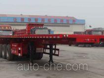 Junqiang JQ9402ZZXP flatbed dump trailer