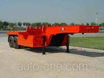 飓风牌JQG9330TTS型铁水运输半挂车
