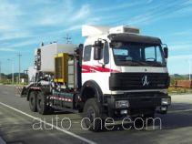 Fracturing blender truck