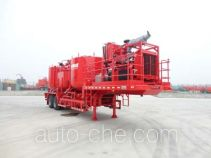 Mixing plant trailer