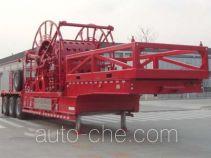 杰瑞牌JR9540TLG型连续油管作业半挂车